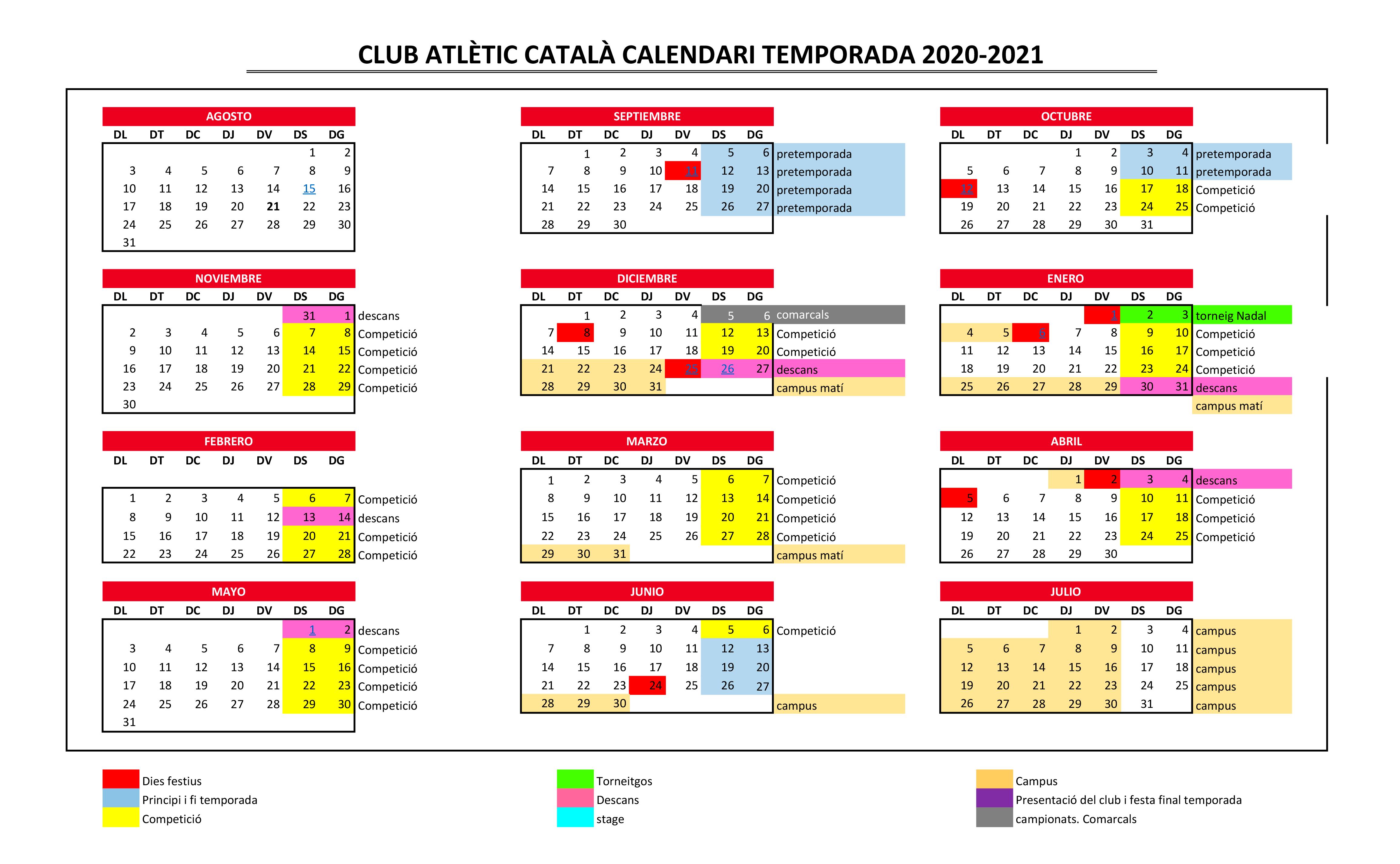 CALENDARI TEMPORADA 2020-21 - Hoja1-1