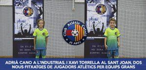 Xavi Torrella i Adrià Cano